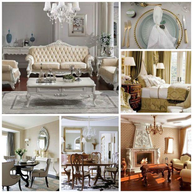 Estilo clássico de decoração