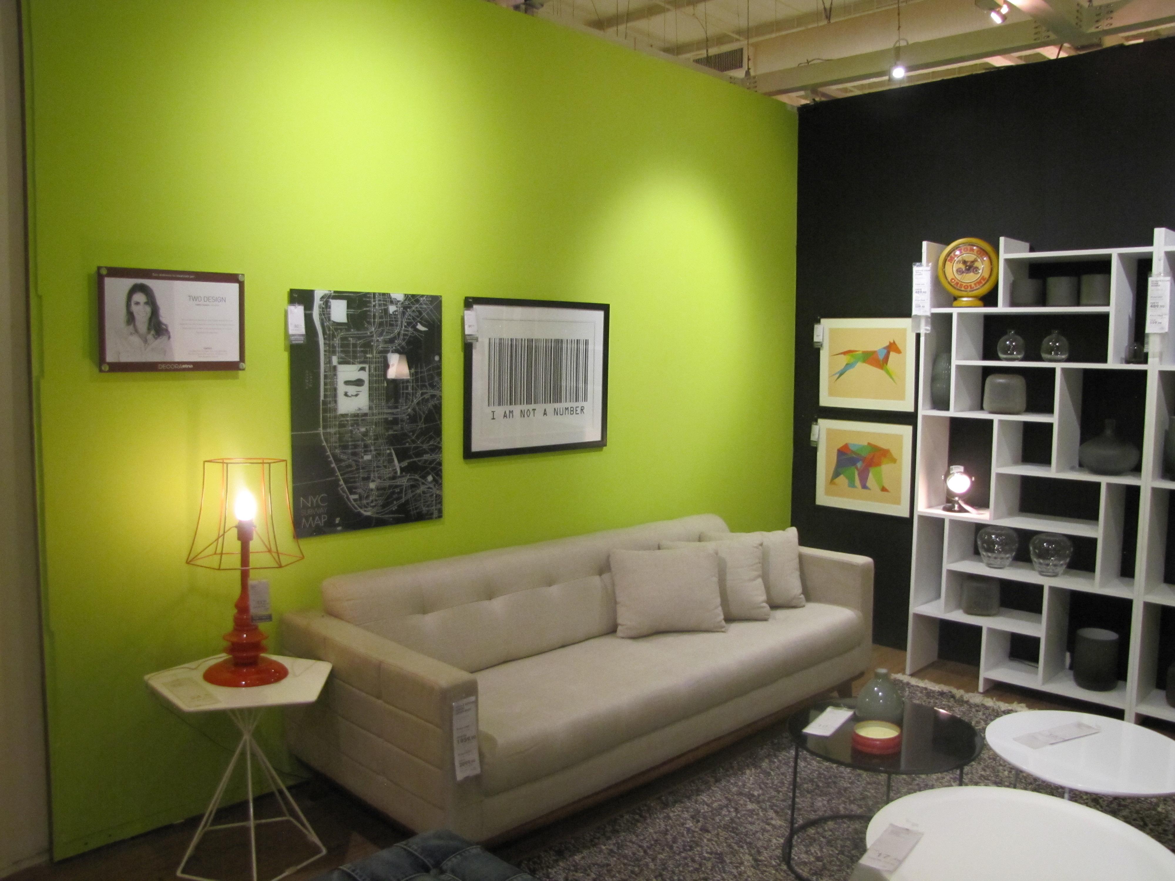 Gaby Garciia Salas Decoradas Na Loja Etna Inspiradecor -> Sala De Estar Ambientes Decorados